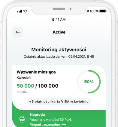 Monitoring aktywności SGB Mobile